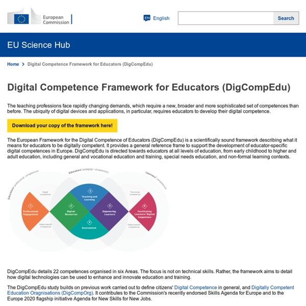 Digital Competence Framework for Educators (DigCompEdu)