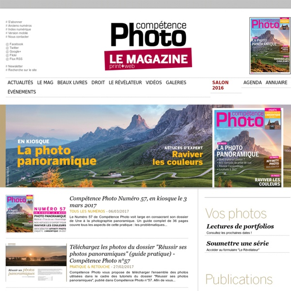 COMPETENCE PHOTO - Le magazine photo 100% pratique