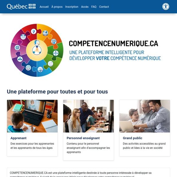 Compétence numérique · Pages