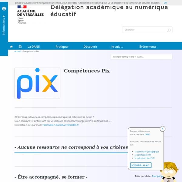 Compétences Pix