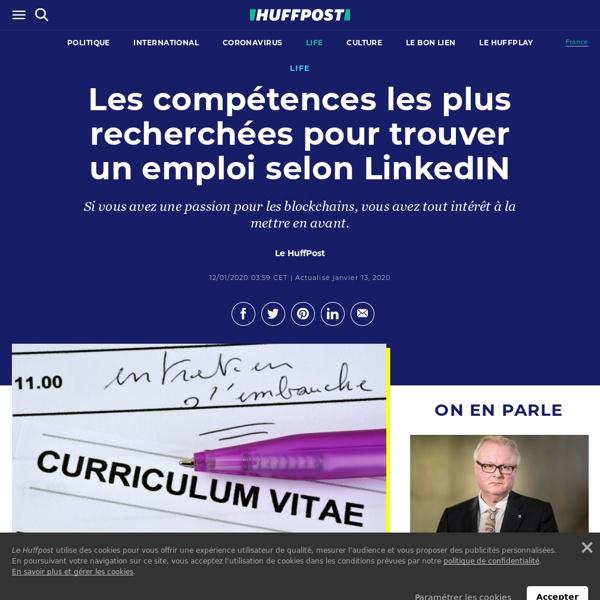 Les compétences les plus recherchées pour trouver un emploi selon LinkedIN