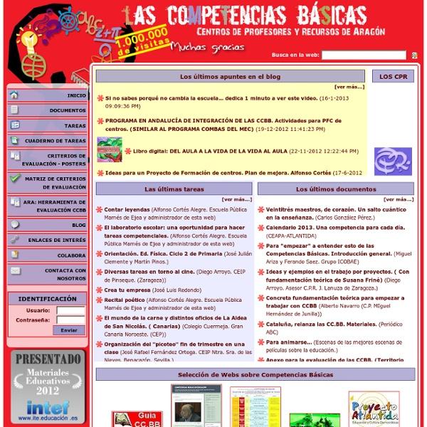 Competencias Básicas - CPR de Aragón