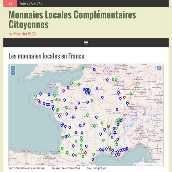Les projets en France