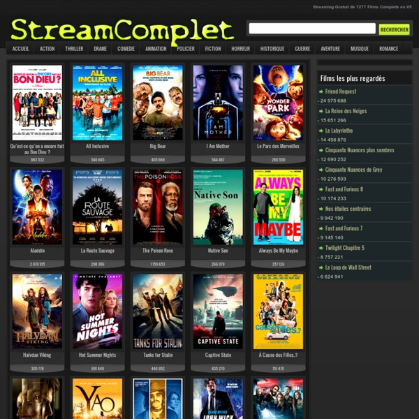 regarder film streaming gratuitement
