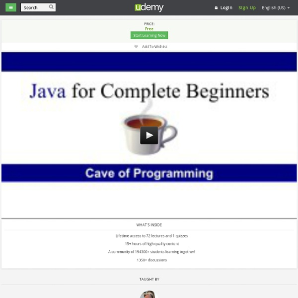 Java for Complete Beginners by John Purcell