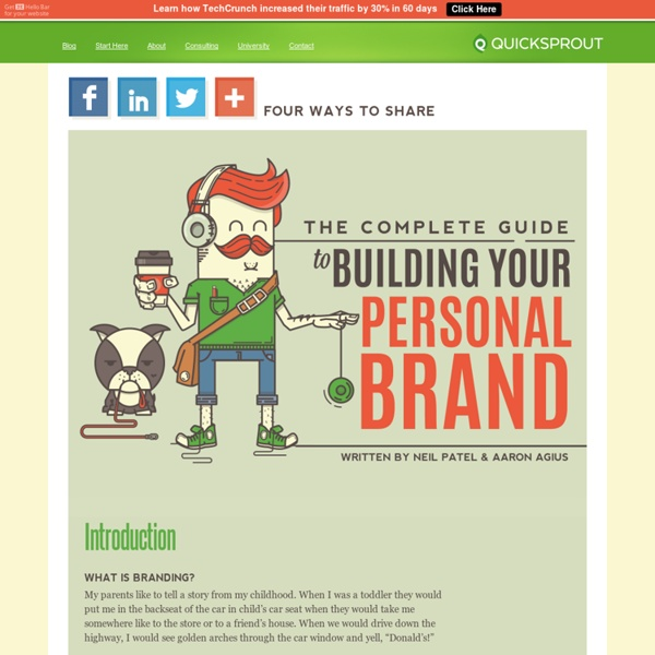 The Complete Guide to Building Your Personal Brand