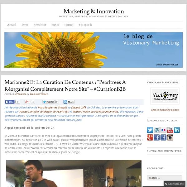 Marianne2 et la curation de contenus : «Pearltrees a réorganisé complètement notre site – #curationB2B