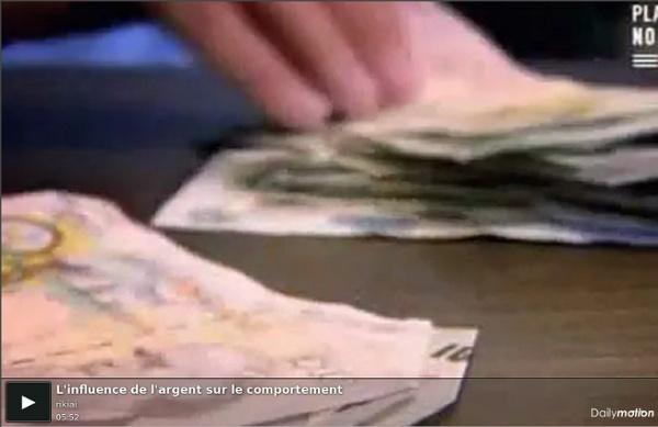 L'influence de l'argent sur le comportement