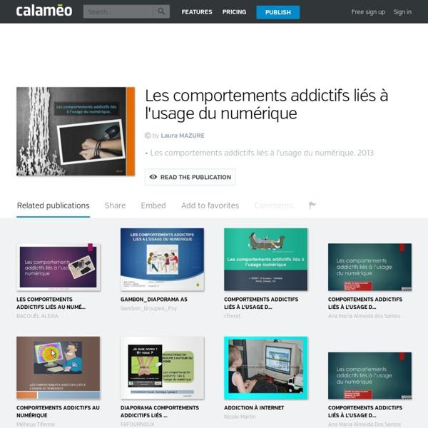 Calaméo - Les comportements addictifs liés à l'usage du numérique