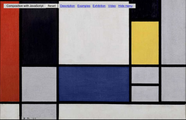Réalise un Mondrian