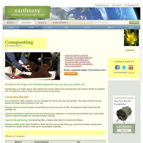 Composting: a guide to making compost at home, using compost tumblers, bins & other composters