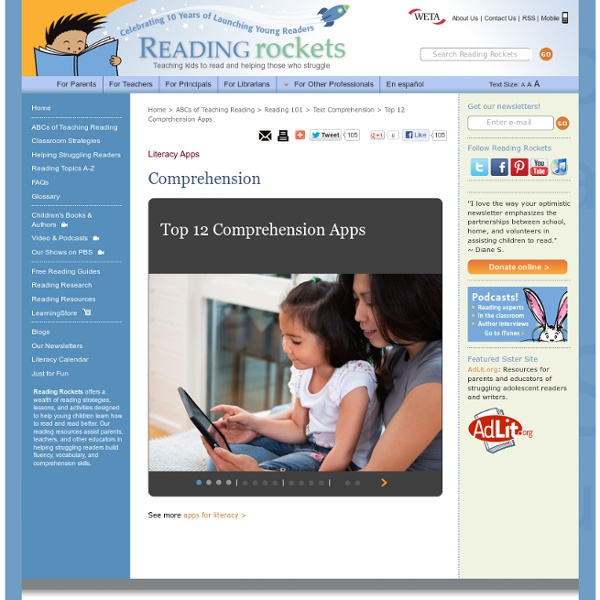 top 12 comprehension apps pearltrees