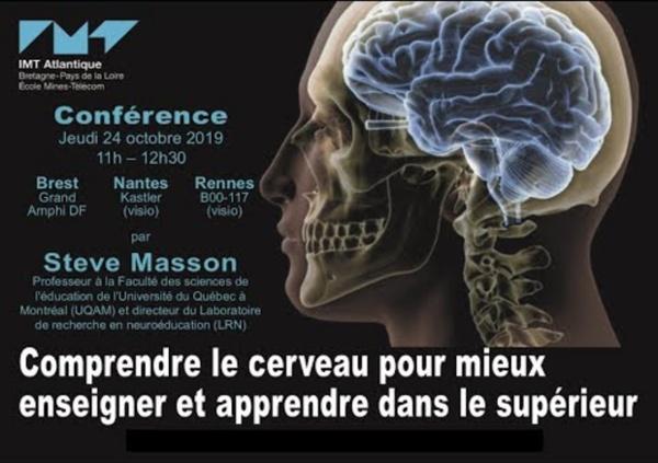Steve Masson : Comprendre le cerveau pour mieux enseigner et apprendre dans le supérieur