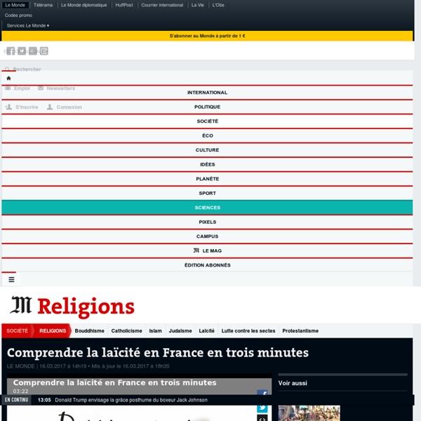Comprendre la laïcité en France en trois minutes