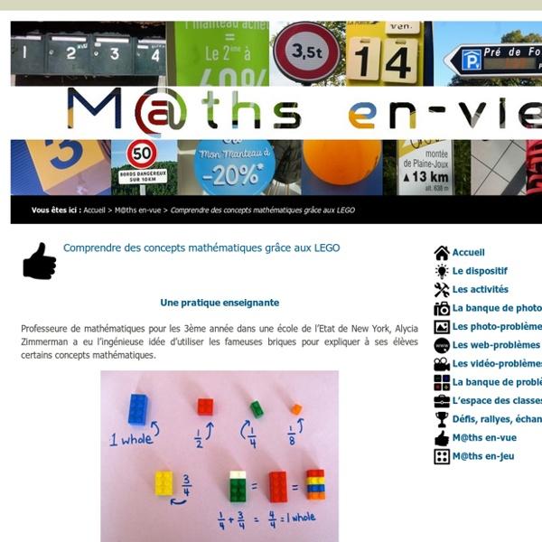 M@ths en-vie - Comprendre des concepts mathématiques grâce aux LEGO