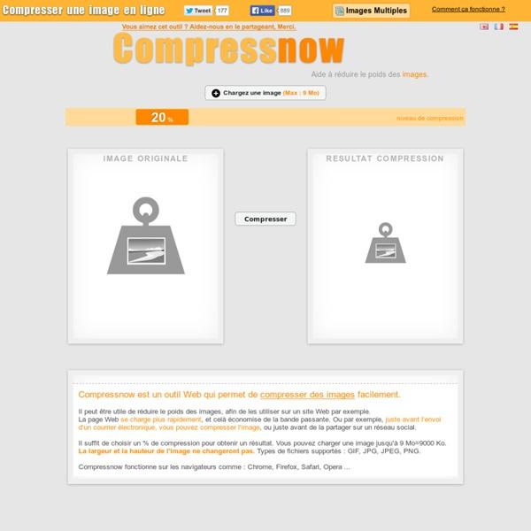 Compresser une image - Compressnow