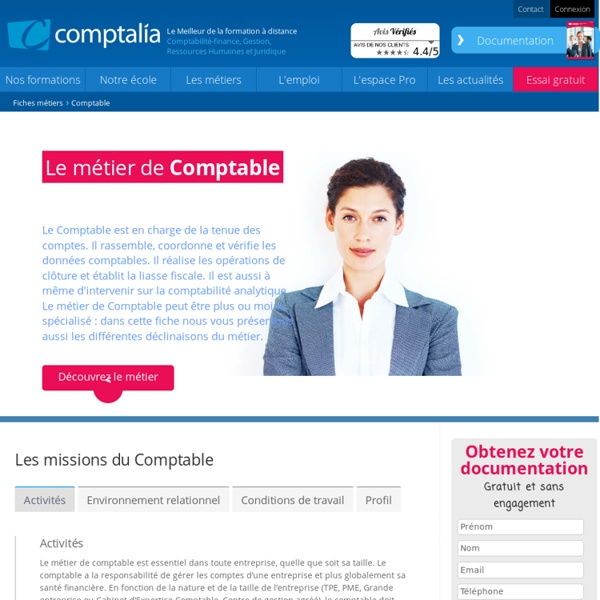 Comptable le m tier pearltrees - Cabinet d expertise comptable definition ...