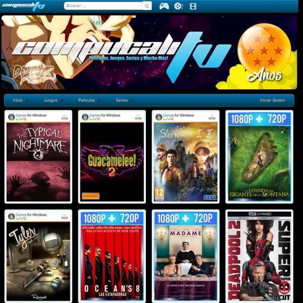 Top 10 paginas de películas, juegos y programas
