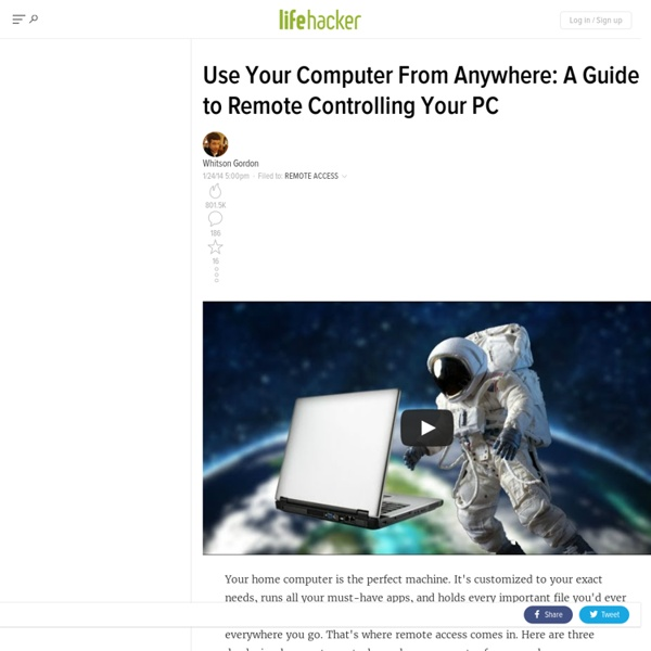 Use Your Home Computer from Anywhere: A Comprehensive Guide to Remote Controlling Your PC