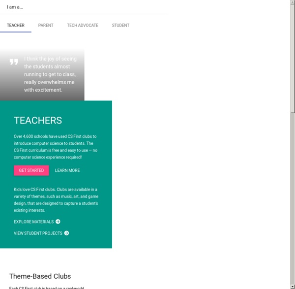 Computer Coding Courses for Kids - Google CS First