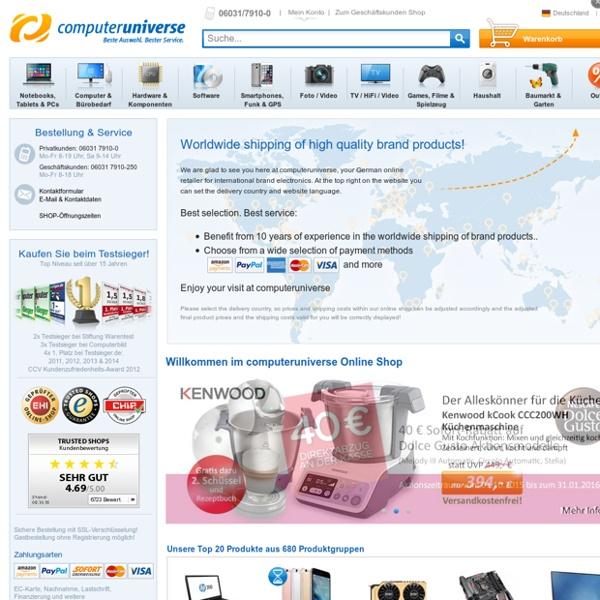 Computer Shop, Notebook Shop und mehr