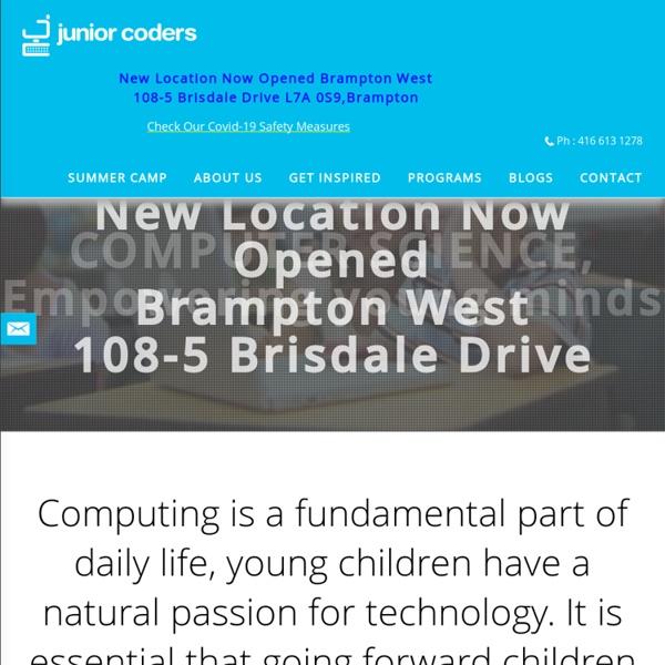 Robots Programming - juniorcoders.ca