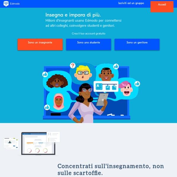 Edmodo - Comunica con studenti e genitori nella tua classe virtuale