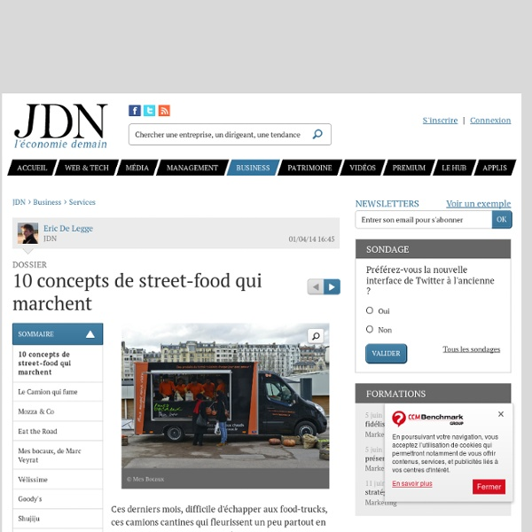 10 concepts de street-food qui marchent