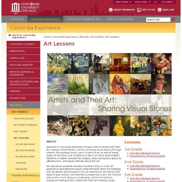 Concordia University Chicago - Art Lessons