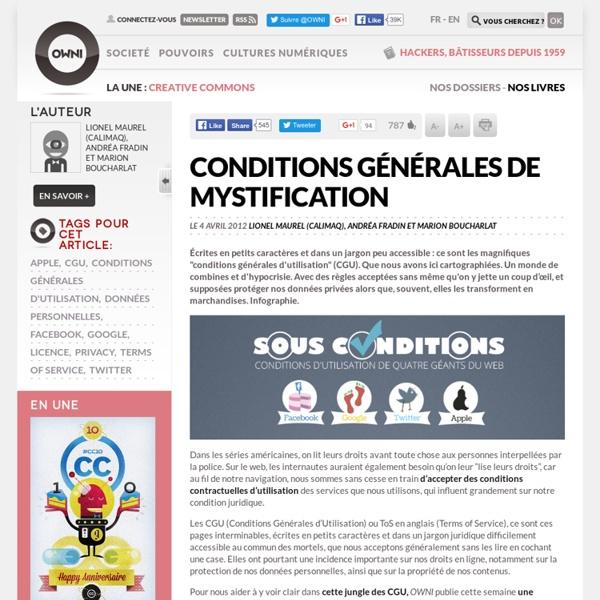 Conditions générales de mystification