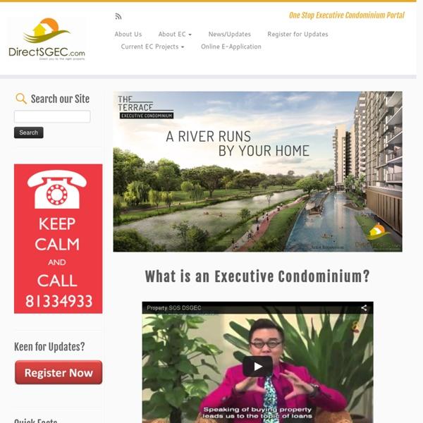 Executive Condominium in Singapore - DirectSGEC