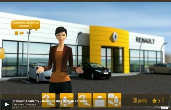 Renault Academy - Conduire un entretien de vente