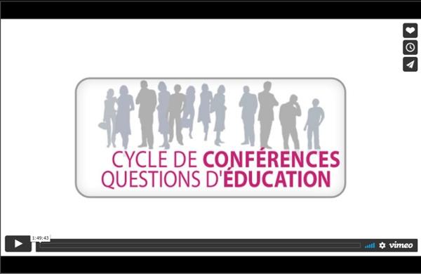 Conférence sur la motivation en classe, de Rolland Viau