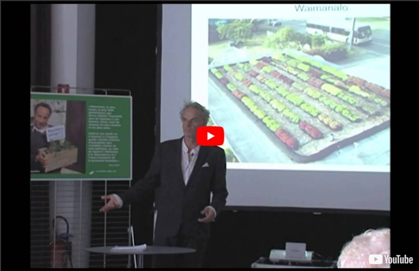 """Steve Read conférence """"qu'est que c'est la permaculture"""" 1ère partie"""