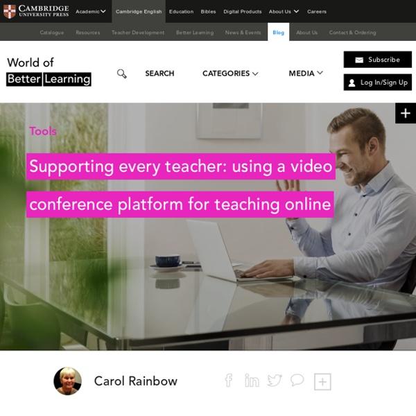Video Conference Platform For Teaching Online