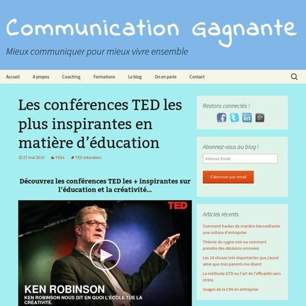 Les conférences TED les plus inspirantes en matière d'éducation