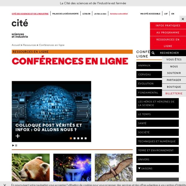 Conférences en ligne - Ressources