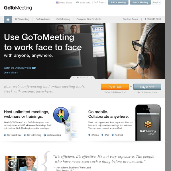 Easy Online Meetings With HD Video Conferencing