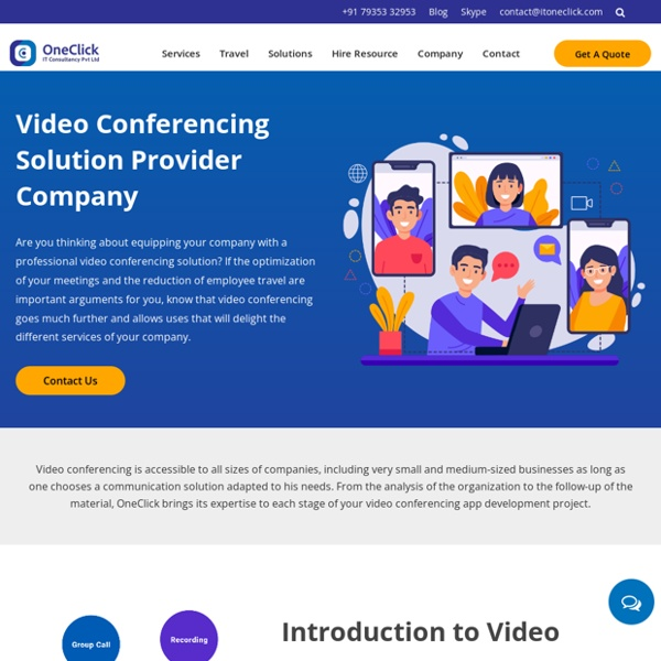 Video Conferencing Solutions Provider Company