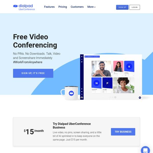 ÜberConference - Lliure de les trucades de conferència Visuals