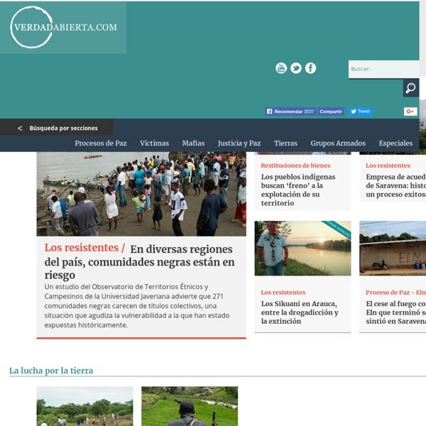 VerdadAbierta, paramilitarismo, colombia, parapolitica, conflicto armado