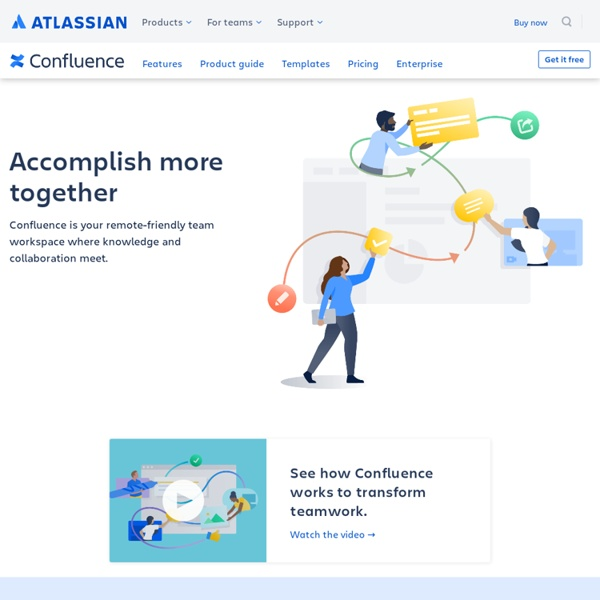 Atlassian Confluence - Trusted by Thousands