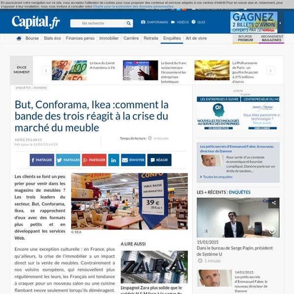 But, Conforama, Ikea :comment la bande des trois réagit à la crise du marché du meuble