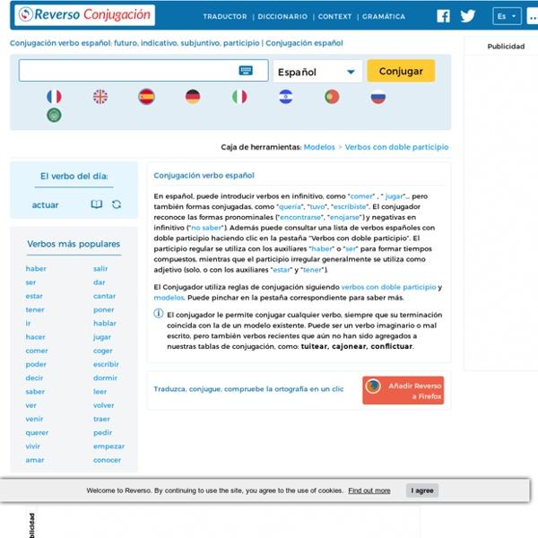Conjugación verbo español: futuro, indicativo, subjuntivo, verbos irregulares, terminaciones