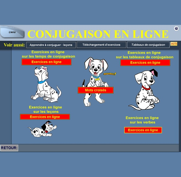 Conjugaison en ligne