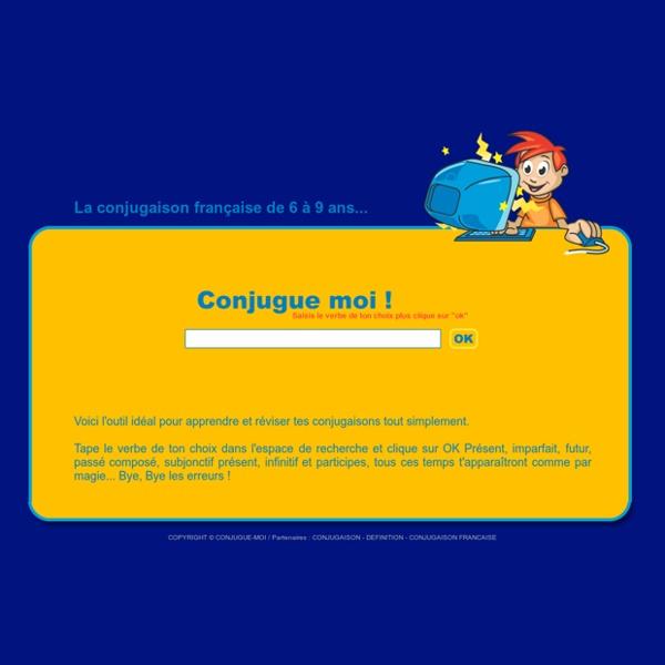 > Conjugaison française pour les enfants / d butants
