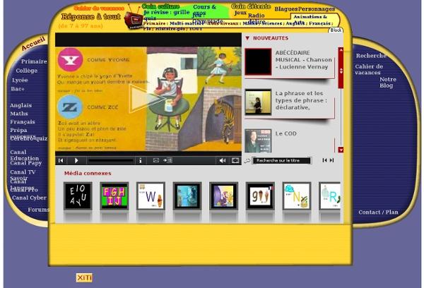 Cours de français en vidéo : grammaire, conjugaison, orthographe, vocabulaire.