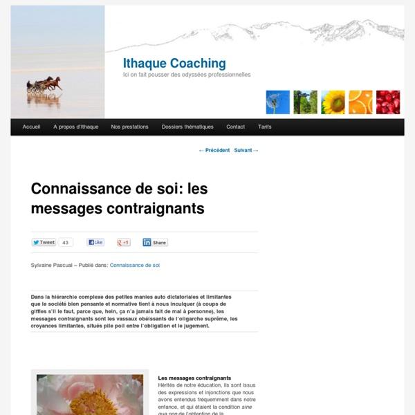 Blog : les 5 messages contraignants
