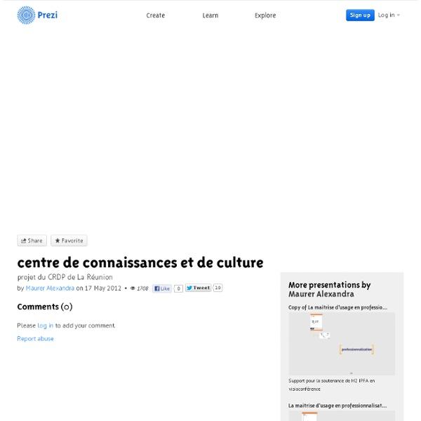 CRDP La Réunion : les 3 C présentation et projet du CRDP