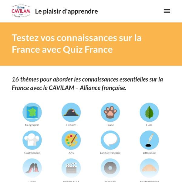 Quiz sur la France - testez vos connaissances